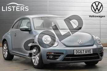 Volkswagen Beetle 1.2 TSI Design 3dr in Ameleva Blue at Listers Volkswagen Leamington Spa