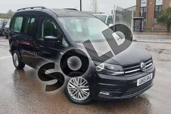 Volkswagen Caddy Maxi Life 2.0 TDI 150 5dr DSG in Deep black at Listers Volkswagen Van Centre Coventry
