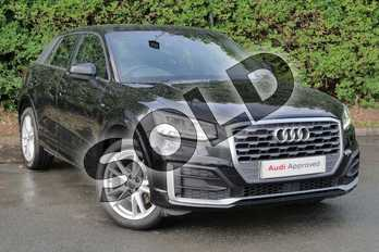 Audi Q2 1.0 TFSI S Line 5dr in Myth Black Metallic at Worcester Audi