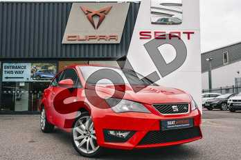 SEAT Ibiza 1.2 TSI FR 3dr in Red at Listers SEAT Coventry