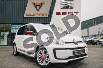 Volkswagen Up 1.0 75PS Up Beats 5dr in Pure White at Listers Volkswagen Coventry