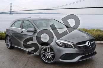 Mercedes-Benz A Class A180d AMG Line Premium 5dr Auto in Mountain Grey at Mercedes-Benz of Hull