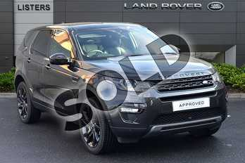 Land Rover Discovery Sport 2.0 SD4 (240hp) HSE Black in Carpathian Grey at Listers Land Rover Droitwich