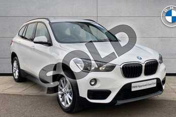 BMW X1 xDrive 20d SE 5dr Step Auto in Alpine White at Listers King's Lynn (BMW)