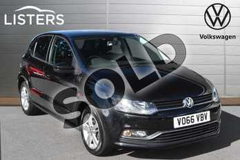 Volkswagen Polo 1.2 TSI Match 5dr in Deep black at Listers Volkswagen Evesham