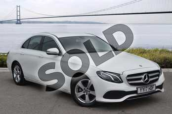 Mercedes-Benz E Class E200d SE 4dr 9G-Tronic in Polar White at Mercedes-Benz of Hull