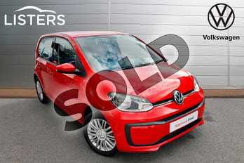 Volkswagen Up 1.0 Move Up 5dr in Tornado Red at Listers Volkswagen Worcester