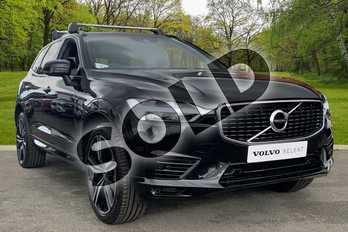 Volvo XC60 2.0 T8 (390) Hybrid R DESIGN Pro 5dr AWD G tronic in Onyx Black at Listers Volvo Worcester