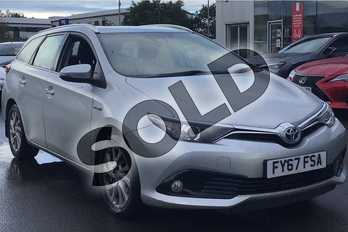 Toyota Auris 1.8 Hybrid Business Edition TSS 5dr CVT in Silver at Listers Toyota Lincoln