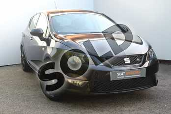 SEAT Ibiza 1.2 TSI FR Black 5dr in Black at Listers SEAT Worcester