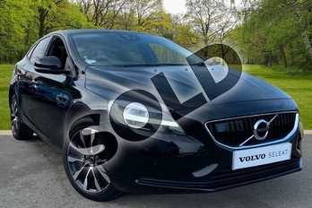 Volvo V40 T2 (122) Momentum Edition 5dr in Onyx Black at Listers Volvo Worcester