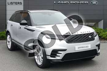 Range Rover Velar D180 R-Dynamic SE in Indus Silver at Listers Land Rover Solihull