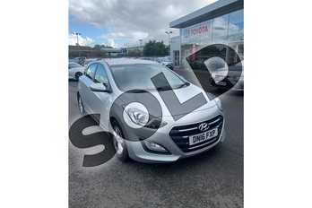 Hyundai i30 1.6 CRDi Blue Drive SE 5dr in Metallic - Platinum silver at Listers Toyota Lincoln