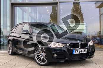BMW 3 Series 330d xDrive M Sport 5dr Step Auto in Black Sapphire metallic paint at Listers King's Lynn (BMW)
