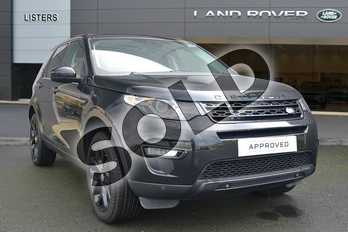Land Rover Discovery Sport 2.0 TD4 (180hp) HSE Black in Santorini Black at Listers Land Rover Hereford