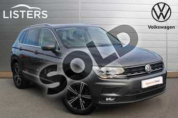 Volkswagen Tiguan 1.4 TSI 150 4Motion SE Nav 5dr DSG in Indium Grey at Listers Volkswagen Nuneaton