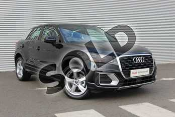 Audi Q2 30 TDI Sport 5dr in Myth Black Metallic at Coventry Audi