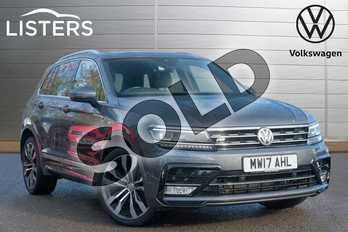 Volkswagen Tiguan 2.0 TDI 150 4Motion R Line 5dr DSG in Indium Grey at Listers Volkswagen Leamington Spa