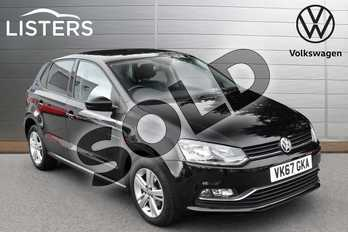 Volkswagen Polo 1.2 TSI Match Edition 5dr in Deep black at Listers Volkswagen Evesham