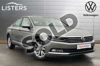 Volkswagen Passat 2.0 TDI S 4dr in Tungsten Silver at Listers Volkswagen Coventry