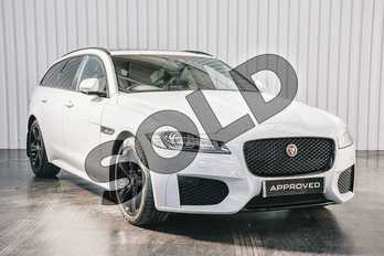 Jaguar XF 2.0 i4 Diesel (180PS) Chequered Flag in Yulong White at Listers Jaguar Solihull