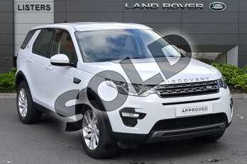 Land Rover Discovery Sport 2.0 TD4 (180hp) SE Tech in Yulong White at Listers Land Rover Droitwich
