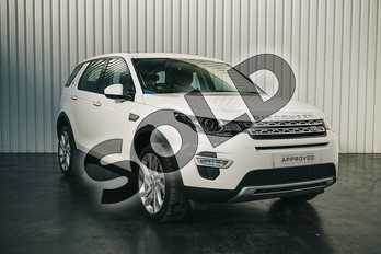 Land Rover Discovery Sport 2.0 TD4 180 HSE Luxury 5dr Auto in Fuji White at Listers Land Rover Solihull