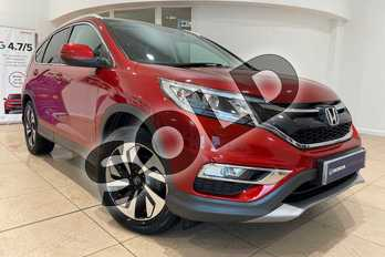 Honda CR-V 2.0 i-VTEC EX 5dr in Passion Red at Listers Honda Northampton