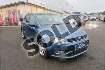 Volkswagen Polo 1.2 TSI 110 SEL 5dr DSG in Metallic - Blue silk at Listers Toyota Grantham