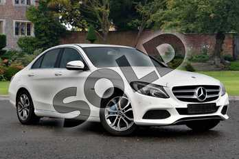 Mercedes-Benz C Class C350e Sport 4dr Auto in Polar White at Mercedes-Benz of Lincoln