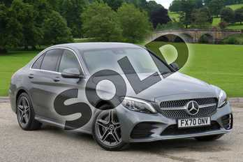 Mercedes-Benz C Class C 200 d AMG Line Edition in selenite grey metallic at Mercedes-Benz of Boston