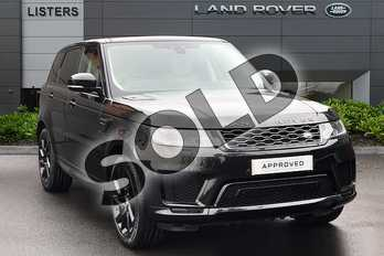Range Rover Sport 3.0 SDV6 (306hp) HSE Dynamic in Santorini Black at Listers Land Rover Droitwich