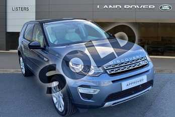 Land Rover Discovery Sport 2.0 Si4 (240hp) HSE Luxury in Byron Blue at Listers Land Rover Hereford