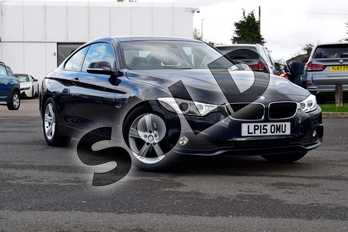 BMW 4 Series 420i SE 2dr Auto (Business Media) in Imperial Blue Xirallic at Listers Boston (BMW)