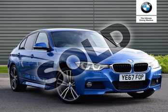 BMW 3 Series 320d xDrive M Sport 4dr Step Auto in Estoril Blue at Listers Boston (BMW)