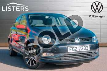 Volkswagen Polo 1.0 Beats 5dr in Deep black at Listers Volkswagen Leamington Spa