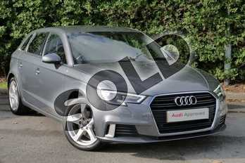 Audi A3 1.4 TFSI Sport 5dr in Monsoon Grey Metallic at Worcester Audi