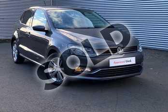 Volkswagen Polo 1.2 TSI Match 5dr in Nimbus Grey at Listers Volkswagen Evesham