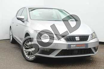 SEAT Leon 1.2 TSI SE Dynamic Technology 5dr in Urban Silver at Listers SEAT Worcester