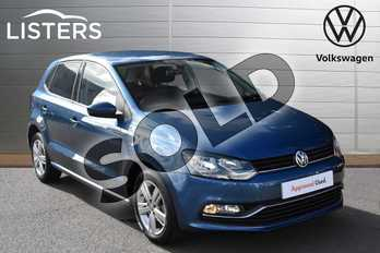Volkswagen Polo 1.2 TSI Match Edition 5dr in Blue Silk at Listers Volkswagen Evesham