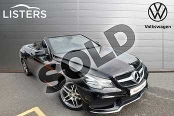 Mercedes-Benz E Class E220 BlueTEC AMG Line 2dr 7G-Tronic in Obsidian Black at Listers Volkswagen Worcester