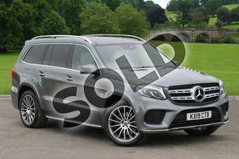 Mercedes-Benz GLS GLS 350d 4Matic Grand Edition 5dr 9G-Tronic in selenite grey metallic at Mercedes-Benz of Lincoln