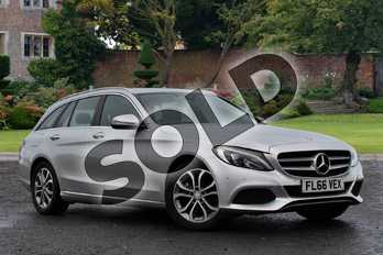 Mercedes-Benz C Class C200 Sport 5dr Auto in Iridium Silver Metallic at Mercedes-Benz of Lincoln