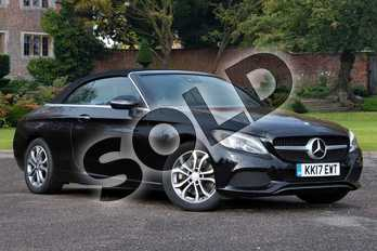 Mercedes-Benz C Class C250d Sport 2dr Auto in Obsidian Black Metallic at Mercedes-Benz of Lincoln