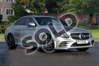 Mercedes-Benz C Class C 220 d AMG Line Edition Saloon in iridium silver metallic at Mercedes-Benz of Lincoln