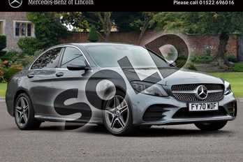 Mercedes-Benz C Class C 200 d AMG Line Edition in selenite grey metallic at Mercedes-Benz of Lincoln