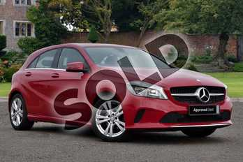 Mercedes-Benz A Class A180d Sport Executive 5dr in Jupiter Red at Mercedes-Benz of Lincoln