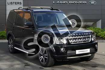 Land Rover Discovery 3.0 SDV6 (256hp) HSE in Santorini Black at Listers Land Rover Droitwich