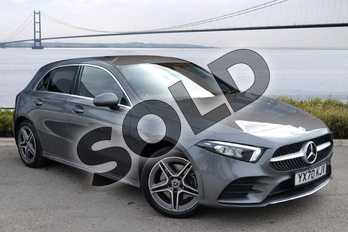 Mercedes-Benz A Class A250e AMG Line 5dr Auto in Mountain Grey Metallic at Mercedes-Benz of Hull
