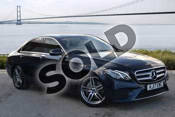 Mercedes-Benz E Class E220d AMG Line 4dr 9G-Tronic in Cavansite Blue Metallic at Mercedes-Benz of Hull